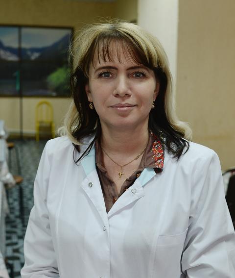 Кузнецова Наталья Геннадьевна - диет. медсестра санатория «Радон»