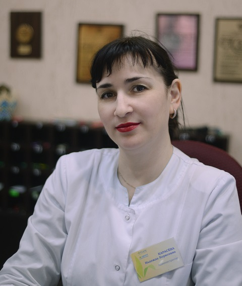 Карасёва Надежда Борисовна - главный администратор санатория «Радон»