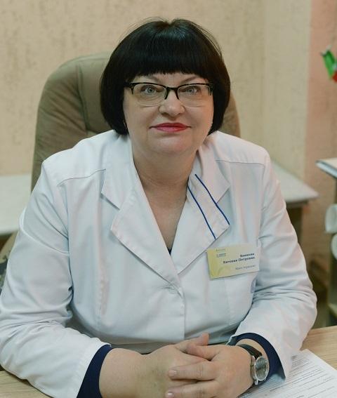 Баннова Евгения Петровна - терапевт санатория «Радон»